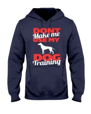Dog Training Voice Limited Ed 2015 Hooded Sweatshirt front