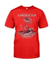 PATRIOTIC- PROUD TO BE AN AMERICAN 0001 Classic T-Shirt front