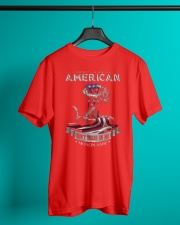 PATRIOTIC- PROUD TO BE AN AMERICAN 0001 Classic T-Shirt lifestyle-mens-crewneck-front-3
