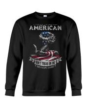 PATRIOTIC- PROUD TO BE AN AMERICAN 0001 Crewneck Sweatshirt thumbnail