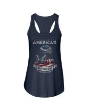 PATRIOTIC- PROUD TO BE AN AMERICAN 0001 Ladies Flowy Tank front