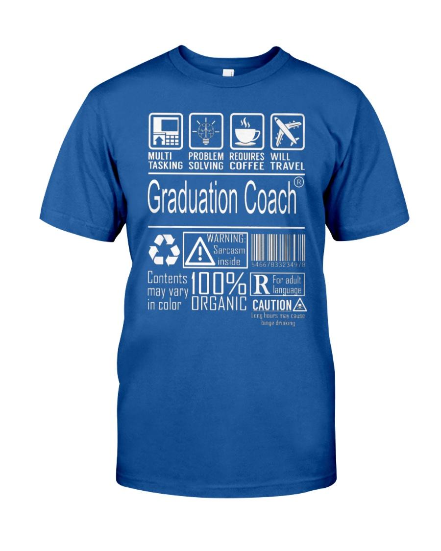 Graduation Coach - Multitasking Classic T-Shirt showcase