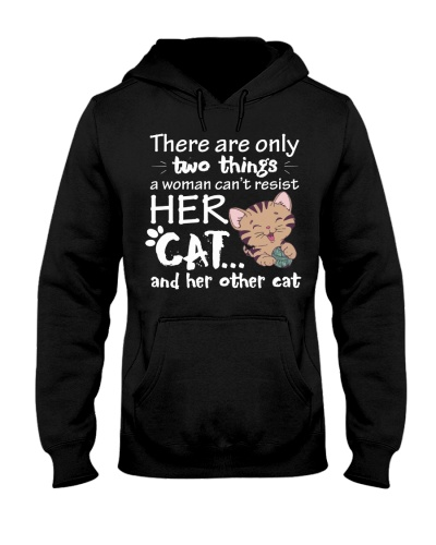 Resist Her Cat And Her Other Cat