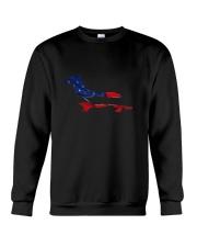 Patriotic Dachshund Crewneck Sweatshirt thumbnail