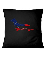 Patriotic Dachshund Square Pillowcase thumbnail
