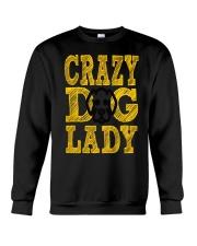 crazy dog lady limited edition Crewneck Sweatshirt thumbnail
