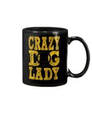 crazy dog lady limited edition Mug thumbnail