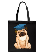 Pug Graduation Cap 2 Tote Bag thumbnail