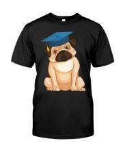 Pug Graduation Cap 2 Classic T-Shirt thumbnail