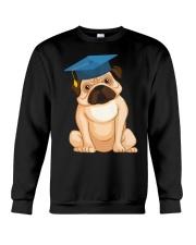 Pug Graduation Cap 2 Crewneck Sweatshirt thumbnail