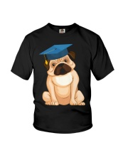 Pug Graduation Cap 2 Youth T-Shirt thumbnail