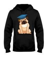 Pug Graduation Cap 2 Hooded Sweatshirt thumbnail