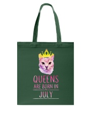 July Queens Cat Are Born In  Tote Bag thumbnail