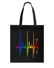 LGBT Heartbeat LGBT Pride Tote Bag thumbnail