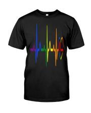 LGBT Heartbeat LGBT Pride Classic T-Shirt thumbnail