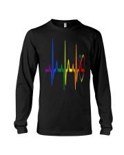 LGBT Heartbeat LGBT Pride Long Sleeve Tee thumbnail