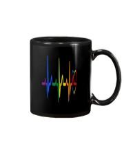 LGBT Heartbeat LGBT Pride Mug thumbnail