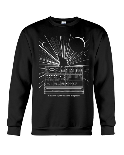 Cat Synthetizer Shirt