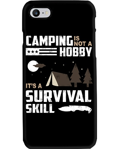 Camping - Camping Is Survival Skill