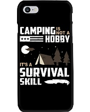 Camping - Camping Is Survival Skill Phone Case tile
