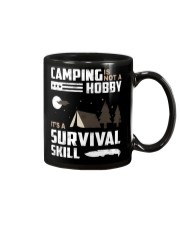 Camping - Camping Is Survival Skill Mug thumbnail