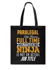 Paralegal 5 Tote Bag thumbnail