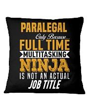 Paralegal 5 Square Pillowcase thumbnail