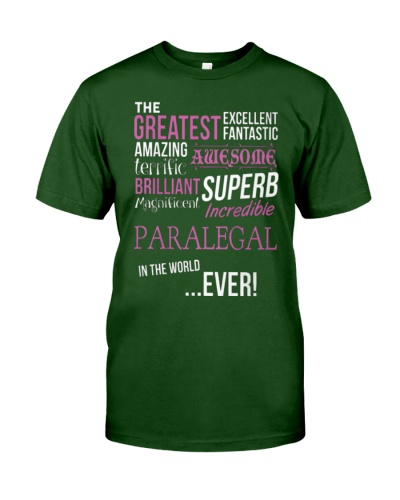 THE GREATEST EXCELLENT PARALEGAL