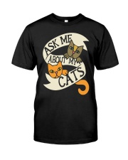 Ask me about my cats Classic T-Shirt thumbnail