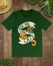 Ask me about my cats Classic T-Shirt lifestyle-mens-crewneck-front-18
