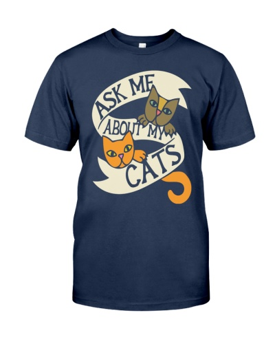 Ask me about my cats