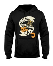 Ask me about my cats Hooded Sweatshirt thumbnail