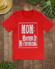 Mom Master of Multitasking - Great Mothers Day Classic T-Shirt lifestyle-mens-crewneck-front-18