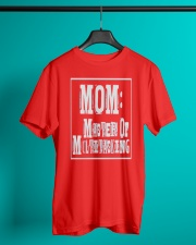 Mom Master of Multitasking - Great Mothers Day Classic T-Shirt lifestyle-mens-crewneck-front-3