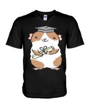 GRADUATION GUINEA-PIG V-Neck T-Shirt thumbnail