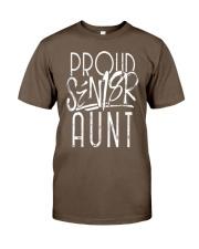 PROUD AUNT OF A 2018 SENIOR GRADUATION G Classic T-Shirt front