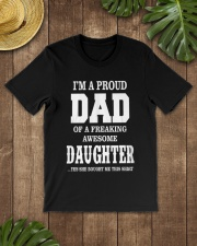 Daughter T-shirt Fathers day gift Classic T-Shirt lifestyle-mens-crewneck-front-18