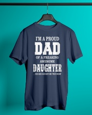 Daughter T-shirt Fathers day gift Classic T-Shirt lifestyle-mens-crewneck-front-3