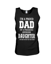 Daughter T-shirt Fathers day gift Unisex Tank thumbnail