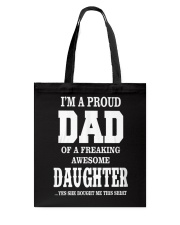 Daughter T-shirt Fathers day gift Tote Bag thumbnail