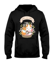 FUNNY MOTHERS DAY CAT HOME IS WHERE THE Hooded Sweatshirt thumbnail