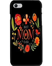 Mothers Day Butterflies and Flowers Phone Case tile