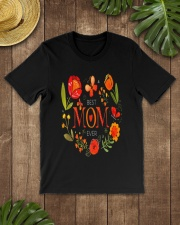 Mothers Day Butterflies and Flowers Classic T-Shirt lifestyle-mens-crewneck-front-18