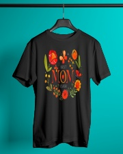 Mothers Day Butterflies and Flowers Classic T-Shirt lifestyle-mens-crewneck-front-3