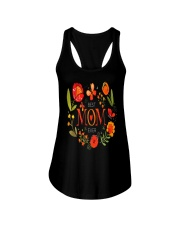 Mothers Day Butterflies and Flowers Ladies Flowy Tank tile