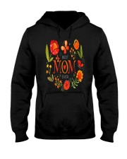 Mothers Day Butterflies and Flowers Hooded Sweatshirt tile
