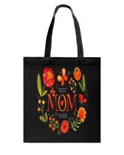 Mothers Day Butterflies and Flowers Tote Bag tile