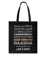 Paralegals Like a Boss Tote Bag tile