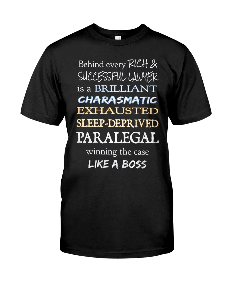 Paralegals Like a Boss Classic T-Shirt