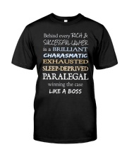 Paralegals Like a Boss Classic T-Shirt front